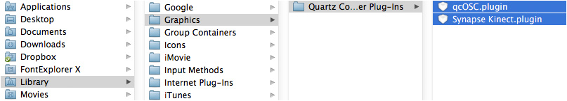 How to use Quartz Composer, Synapse & Xbox Kinect on your Mac